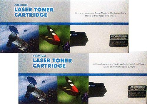 Pack 2 Unidades Toner Compatible Brother TN2320 TN2345 TN 2350 TN2380 DCP L2500D, DCP L2500, DCP L2520, DCP L2540DN, DCP L2540, HL L2300, HL L2340, HL L2340DW