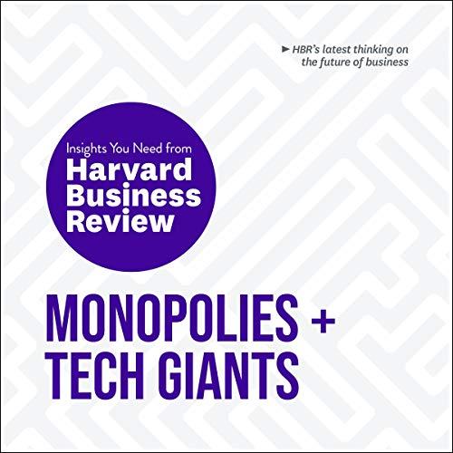『Monopolies and Tech Giants』のカバーアート