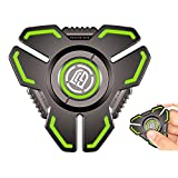 Fidget Spinners,Anxiety Toys Fidget Spinner for Adults and Kids,Stress Relief Reducer Figets Toy,Metal Finger Hand Spinner Toys with Luminous Light,Absorb Solar Light and Glow in Dark