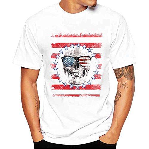 FRAUIT-heren T-shirt ster print korte mouwen shirt mode prachtig design 100% katoen basic ronde hals T-shirt los zacht ademend comfortabel kleding blouse tops