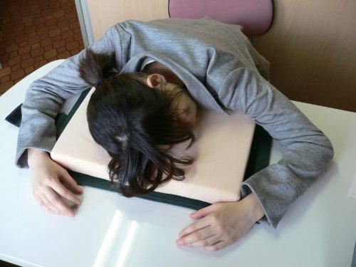 昼寝枕仕事中毒