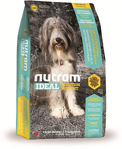 Nutram Hund empfindliche Haut / Fell / Bauch – Lamm & brauner Reis mit ganzem Ei Rezept 2 kg