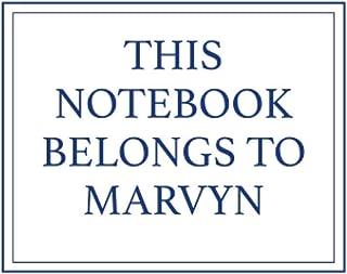 This Notebook Belongs to Marvyn