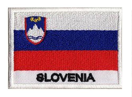 Aufnäher zum Aufbügeln Slowenische Flagge Slowenien