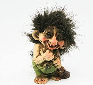 Nyform Troll with Broomstick Figure