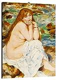 Quadro Renoir cod. 07 cm 50x70 Stampa su Tela Canvas intelaiato Pronto da Appendere Vendita Falsi di Autore Il Negozio di Alex
