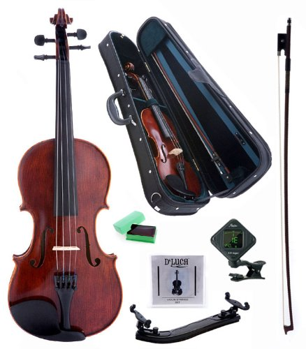 D'Luca PD01 Orchestral Series Intermediate Violin Outfit - 4/4
