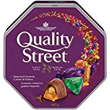 quality street imported caramels; crémes & pralines; 180g tin