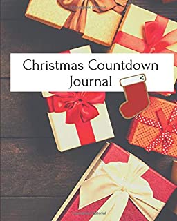 Christmas Countdown Journal: 52 pages of Christmas fun for kids! [FULL COLOR]