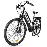 Accolmile Bici Elettrica da Città Trekking 28' 700C, 36V 250W Motore BAFANG M200 a coppia media,...