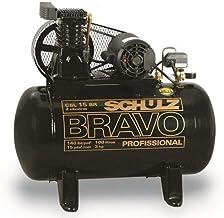 Compressor de Ar 15 Pés 100 Litros 110/220V Monofásico Bravo - Schulz - CSL15BR-100
