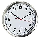 1 batteria AA da 1,5 V inclusa Questo orologio da parete ha un grande quadrante ben leggibile con lancetta dei secondi ed è sempre regolato correttamente grazie all'orologio radiocontrollato Ideale per casa, ufficio, sala d'attesa, ingresso o recepti...