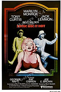Posters USA - Some Like It Hot Movie Poster GLOSSY FINISH - MOV947 (24