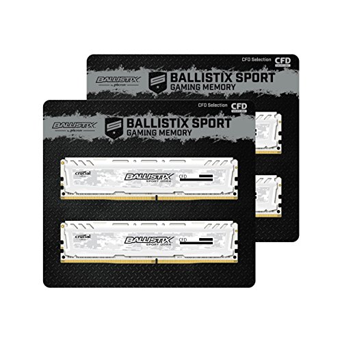 CFD販売 デスクトップPC用メモリ PC4-19200(DDR4-2400) 16GBx4枚 288pin (無期限保証)(Ballistix by Micron...