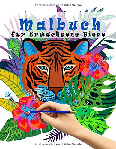 Malbuch für Erwachsene Tiere: tiermandalas für kinder und erwachsene ,große Mandala Ausmalbuch ,meditieren, entspannen,mandala malbuch für erwachsene,kinder(ausmalbilder tiere mandala)
