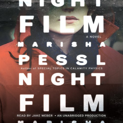 Night Film audiobook cover art