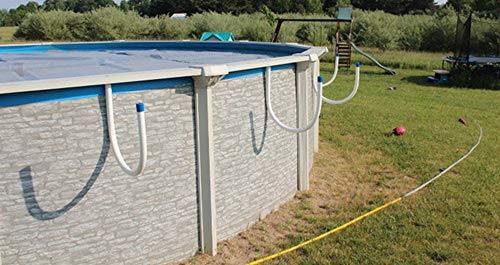Solar Saddle Pool Solar Cover Holder