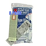 Vacuum Cleaner Bags for Oreck XL Canister Type CC Upright Filter Paper Bag 8 pack