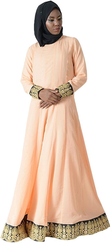 Royal Trim Eid Abaya Dress+HIjab