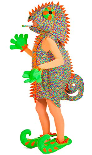 Disfraz Camaleón Adulto - Ášnica