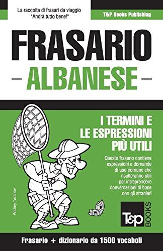Frasario Italiano-Albanese e dizionario ridotto da 1500 vocaboli