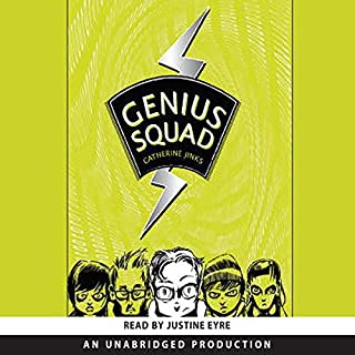 Genius Squad audiobook cover art