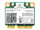 Intel Dual-Band Wireless-AC 7260 7260HMW Half Mini PCIe PCI-Express WLAN WLAN Kartenmodul 802.11 ac 867Mbps BlueTooth BT 04W3814 für IBM Lenovo