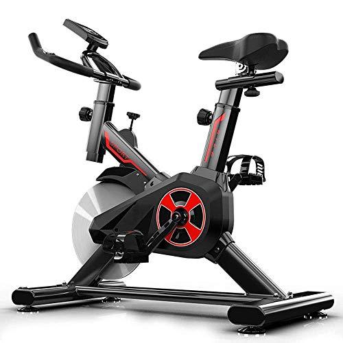 Cyclette stazionaria,Trainer per bici da ciclismo da interno Elevata capacità di carico,Volano per impieghi gravosi con controllo magnetico standard commerciale Cyclette ultra silenziosa Attrezzatura