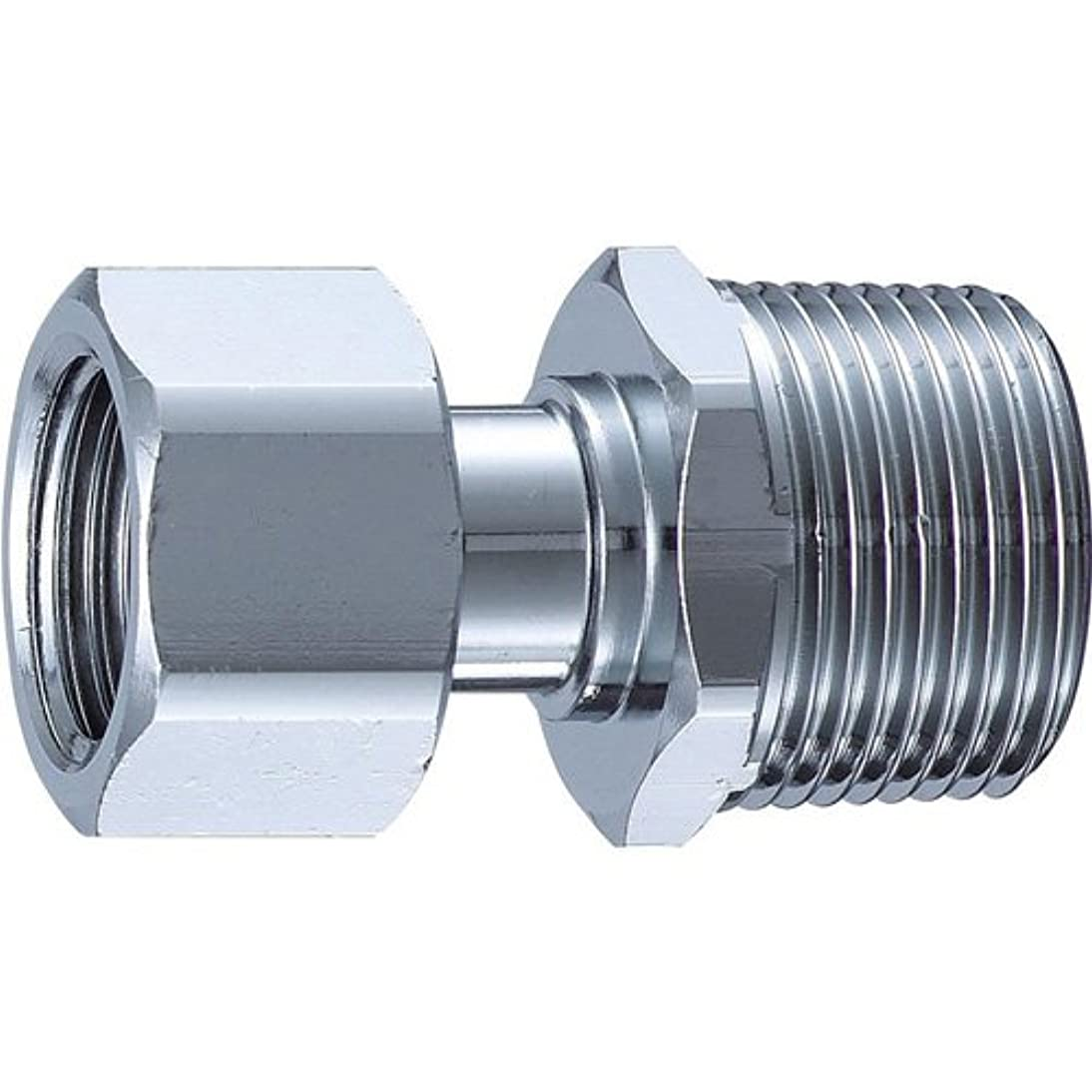気配りのあるオーブン咽頭三栄水栓[SANEI] 配管用品 異径片ナット付アダプター 【T841-20X13】