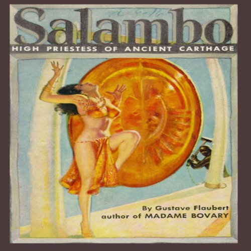 Salambo audiobook cover art