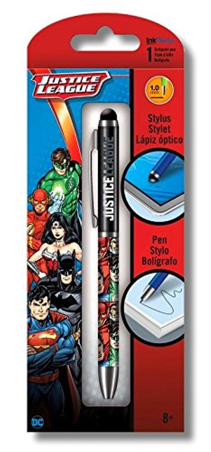 DC Comics Justice League Ballpoint Click Pen and Stylus Combination
