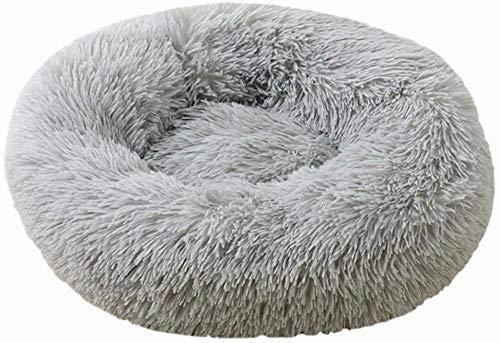 BACKZY MXJP Perrera Pet Dog Kennel Pet Dog Bed Cálido Invierno Cálido Cama para Perros para Perros Gris Claro XS 40 Cm