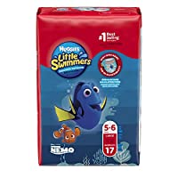 Huggies Little Swimmers Disposable Swimpants, Large, 17 Count (Character May Vary) by Huggies