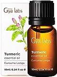 Aceite esencial de cúrcuma: una belleza renovada libre de los signos del envejecimiento (10 ml) - Aceite de cúrcuma 100% puro de grado terapéutico
