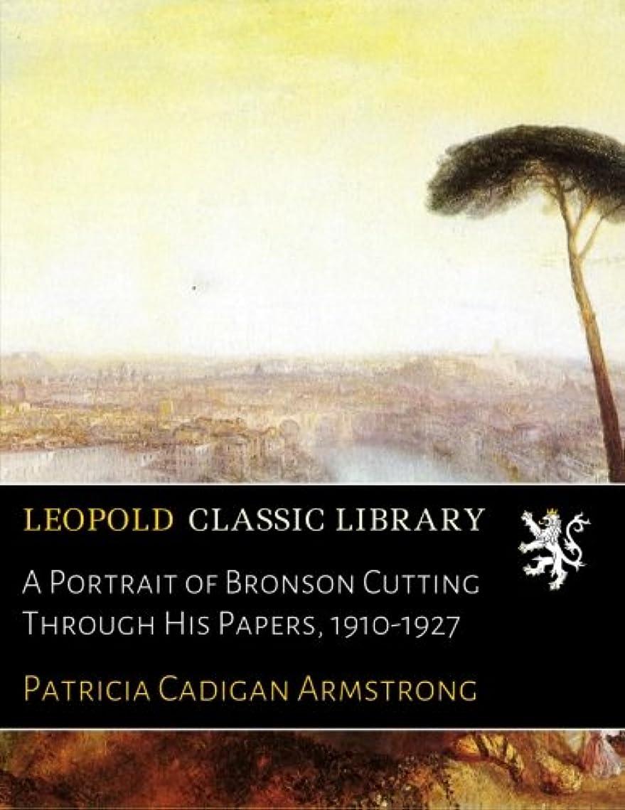 最悪南アメリカすでにA Portrait of Bronson Cutting Through His Papers, 1910-1927