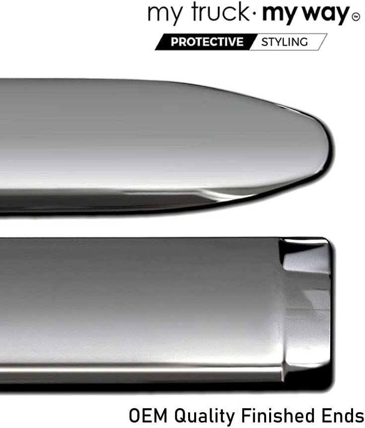 MY CAR WAY Chrome Body Side Finally resale start Door Fits Max 62% OFF Protector Molding Trim