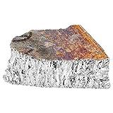 Lingot de métal de bismuth Bi99.99, lingot de bismuth de géodes de cristal pur 1000g pour la fabrication de cristaux/leurres de pêche Kit de cristal de bismuth en morceaux