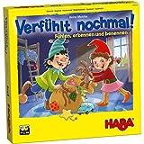 HABA 304508 – Verfühlt nochmal!, Fühlspiel für Kinder ab 3 Jahren, Lernspiel mit Holzteilen schult spielerisch die Feinmotorik, Neuauflage des Lernspiel-Klassikers -
