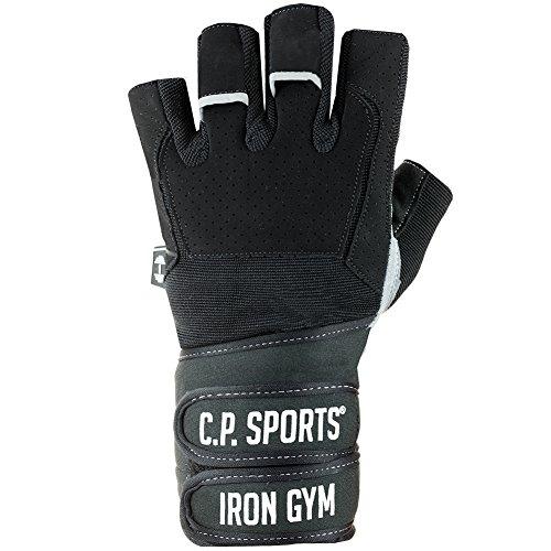 C.P. Sports Profi-Gym-Doppelbandagen-Handschuh, Fitnesshandschuh, Trainingshandschuh L - 2