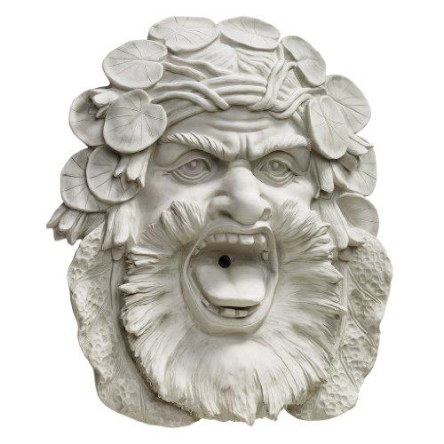 Design Toscano Hafod Mansion Greenman Fountain Wall Sculpture