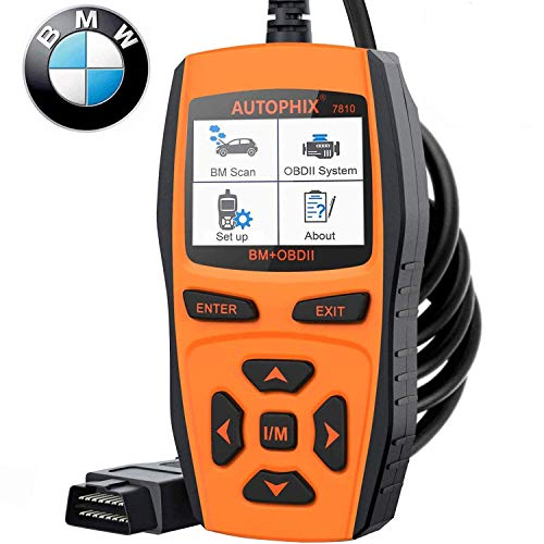 AUTOPHIX 7810 Full-Systems Scanner for BMW Group OBD2 Code Reader Diagnostic Scan Tool with Engine/EPB/SAS/EGS/DME/DDE/CBS/ECU/F Chassis Reset Battery Registration Tool