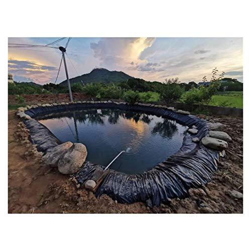 ASY Flexibler Teich-Liner Fisch-Teich-Stiftung HDPE-Teich-Skins Verdicken Plane-Tarpaulin-Abdeckung Reißfestigkeit für Bäche Brunnen Fischteich Backyard Pool (Color : 7x6m)