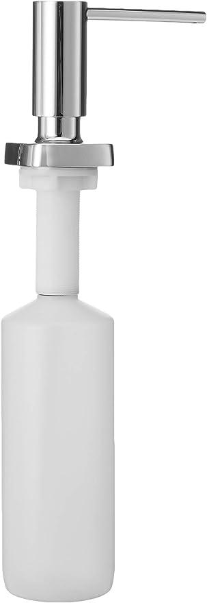 Amazon Com Hansgrohe Bath And Kitchen Sink Soap Dispenser Metris 4 Inch Modern Soap Dispenser In Chrome 40468001 Home Improvement