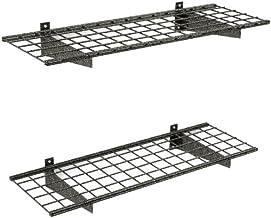 HyLoft 00651 45-Inch by 15-Inch Garage Wall Shelf Storage, Hammertone, 2-Pack