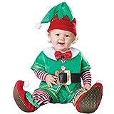 Bebé Navidad Conjuntos de Ropa, Mameluco + Sombrero + Zapatos Trajes de Fiesta