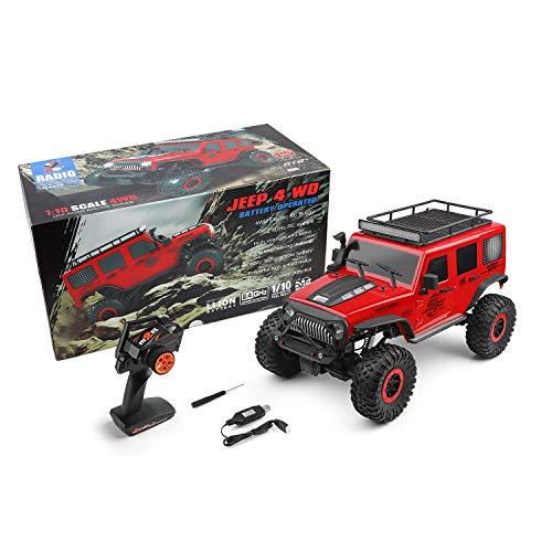 Goolsky WLtoys 104311 RC Coche 2.4G 1/10 4WD Jeep Coche SUV