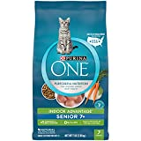 Purina ONE Natural Senior Dry Cat Food, Indoor Advantage Senior 7+ - 7 lb. Bag