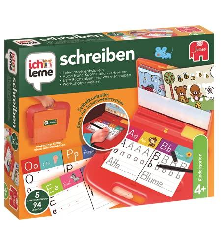 Jumbo Spiele ich lerne schreiben - Lernspiel zum Schreiben und Buchstaben lernen...