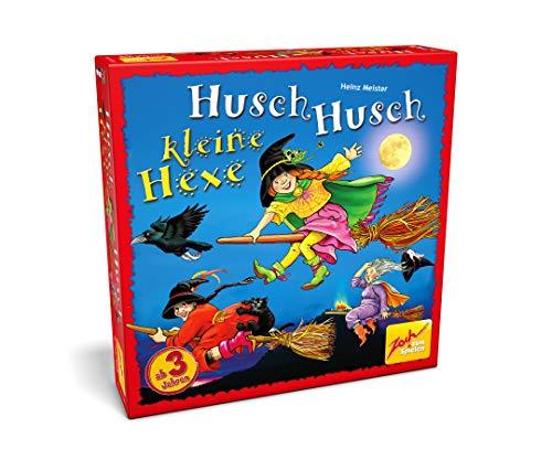 Zoch 601131300 - Husch Husch kleine Hexe - Ein verhextes Merkspiel für kleine Hexenmeister - Mit hochwertigem Spielmaterial, ab 3 Jahren