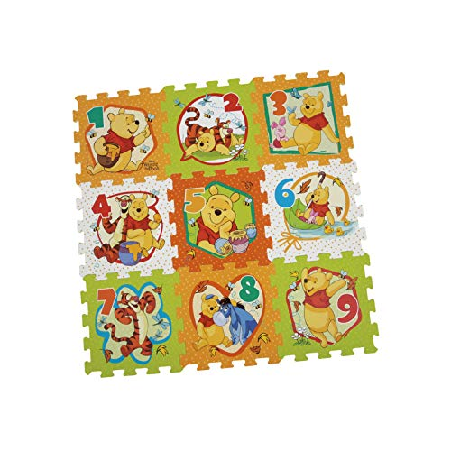 Winnie The Pooh Tappeto Puzzle Soft